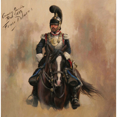 CORACERO GUARDIA REAL 1833