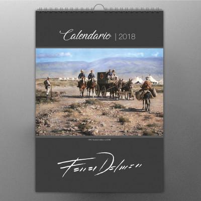 CALENDARIO 2018 DE AUGUSTO FERRER-DALMAU