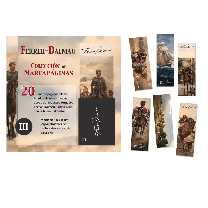 MARCAPÁGINAS FERRER-DALMAU  (Serie III)