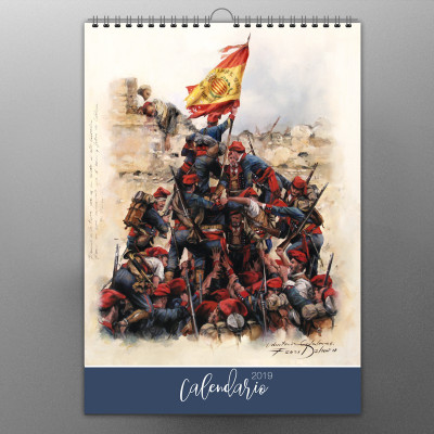 CALENDARIO 2019 DE AUGUSTO FERRER-DALMAU