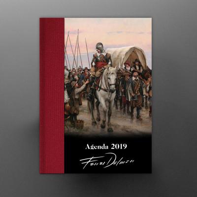 AGENDA ILUSTRADA 2019 FERRER-DALMAU «CAMINO ESPAÑOL»