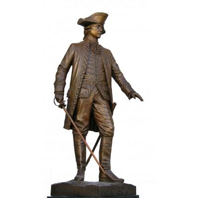 Escultura «Bernardo de Gálvez»