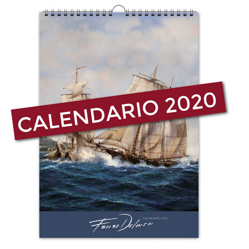 CALENDARIO 2020 DE AUGUSTO FERRER-DALMAU