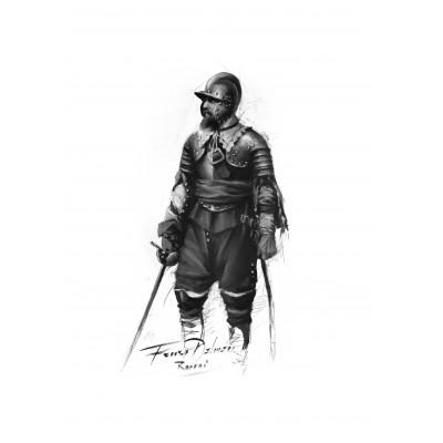 BOCETO CAPITÁN DE LOS TERCIOS (Serie limitada)